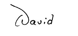 David F Levi Signature