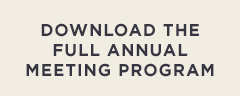 Download the full Annual Meeting program.