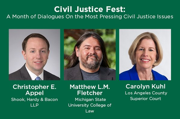 Civil Justice Fest: Behind the Curtain at ALI