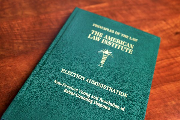 Now Available: Principles of the Law, Election Administration