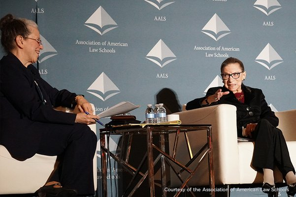 Vicki Jackson Interviews Justice Ginsburg at AALS 2020 Annual Meeting