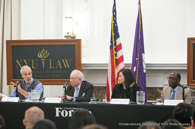 Latham & Watkins Forum at NYU Law | American Law Institute