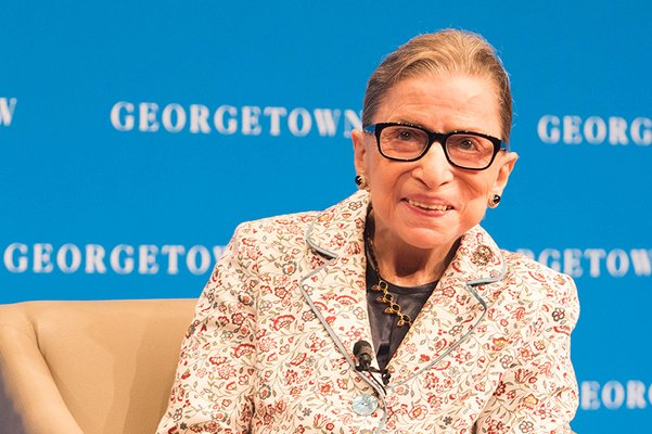 Justice Ginsburg Speaks to Georgetown Law Students