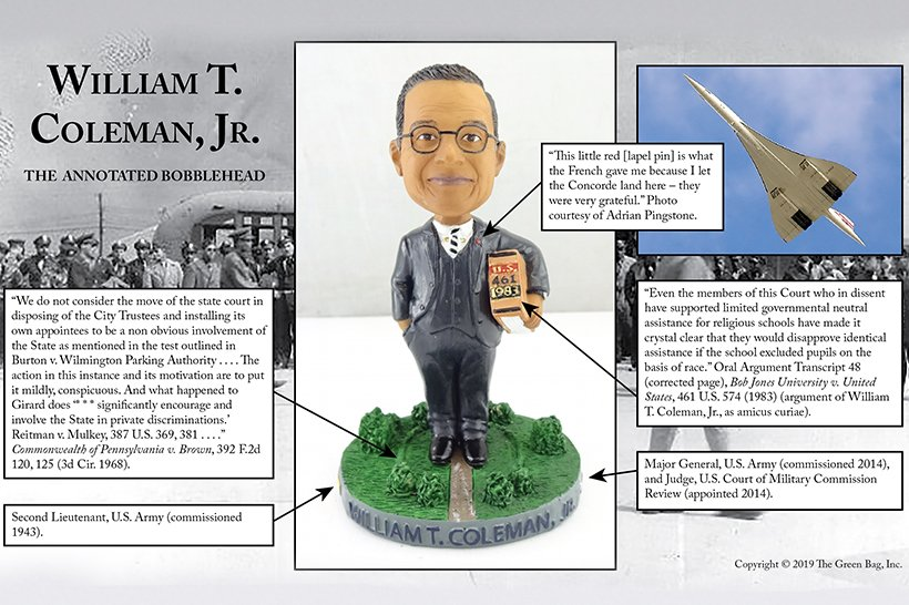 William T. Coleman Jr.: The Annotated Bobblehead | American Law Institute