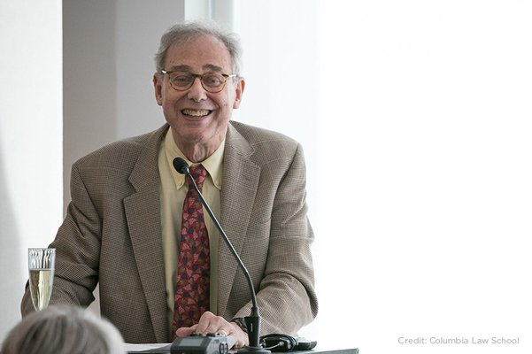 Lance Liebman Honored for His Service to Columbia Law School