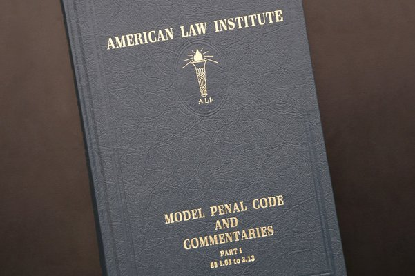 U.S. Supreme Court Cites the Model Penal Code