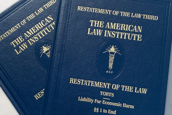 Restatement of the Law Third, Torts: Liability for Economic Harm - Now Available