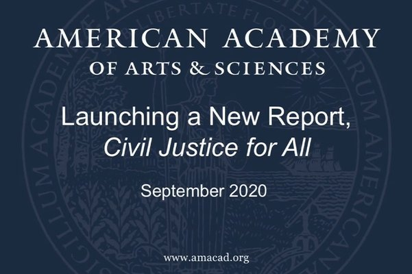 "Launching A New Report: ""Civil Justice for All"""